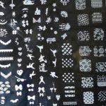 آموزش روش چاپ طرح با شابلون فلزی روی ناخن