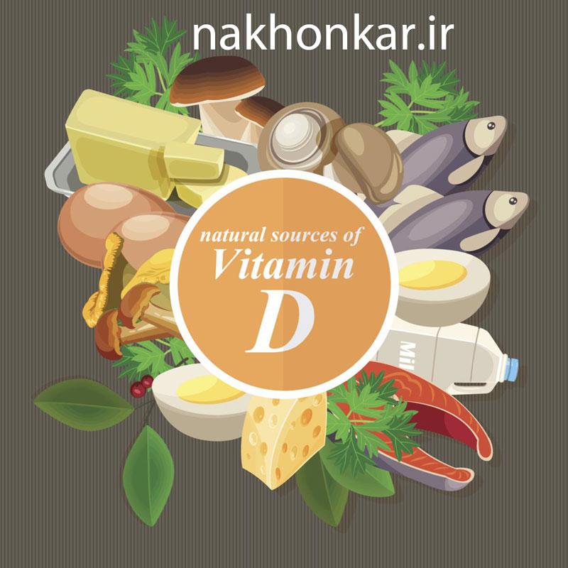 مواد غذایی سالم با ویتامین D ،ناخن کار ، مواد غذایی حاوی ویتامین D d